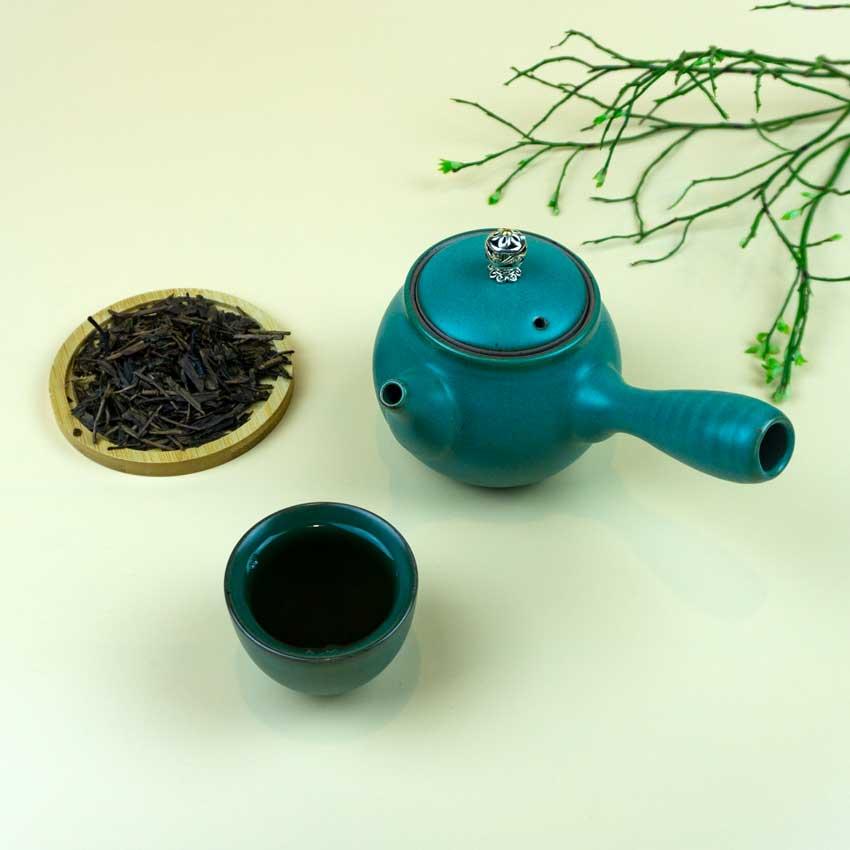 Houjicha-Traditionell-Kyusu TEZEN Beste Teesorten entdecken. Hochwertige Tees Online kaufen